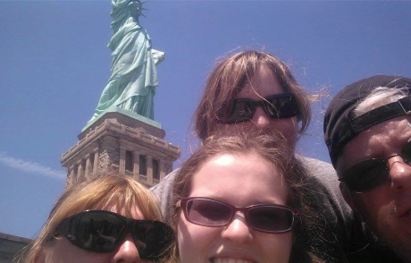 Selfie Fail with Lady Liberty
